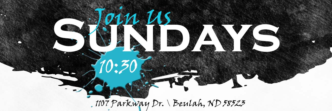 Join Us Sundays @ 10:30